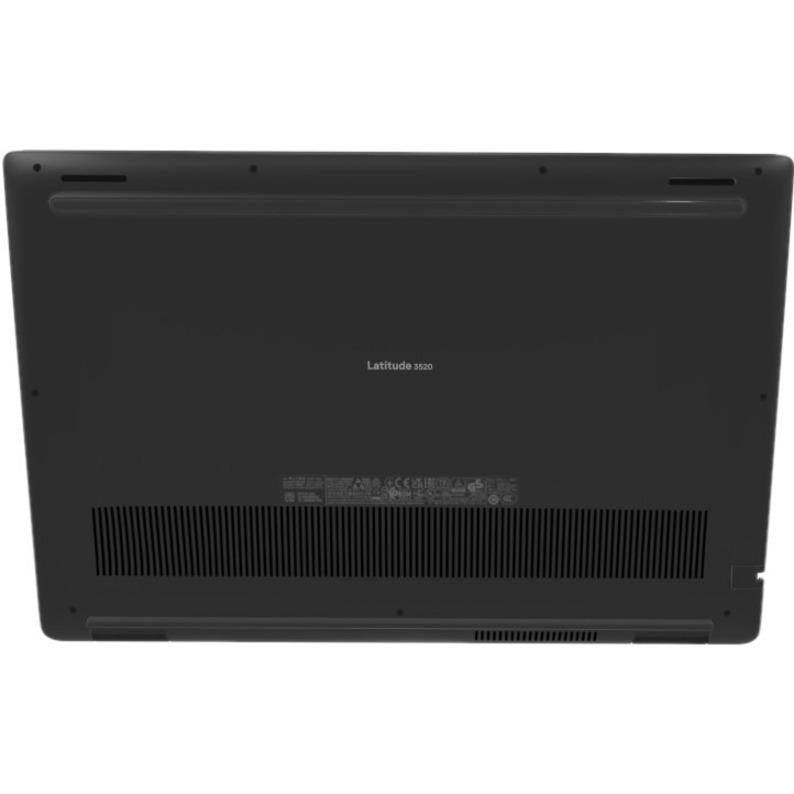 """Dell Latitude 3000 3520 15.6"""" Notebook - HD - 1366 x 768 - Intel Core i5 (11th Gen) i5-1135G7 Quad-core (4 Core) 2.40 GHz - 8 GB RAM - 256 GB SSD - Black"""