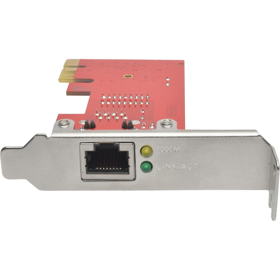 Tripp Lite 1-Port Gigabit Ethernet (GbE) PCI Express (PCIe) Card, Low Profile