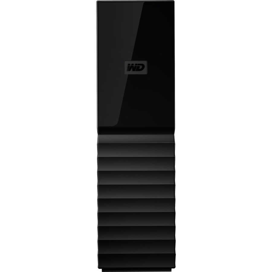 WD My Book 8TB USB 3.0 desktop hard drive with password protection and auto backup software