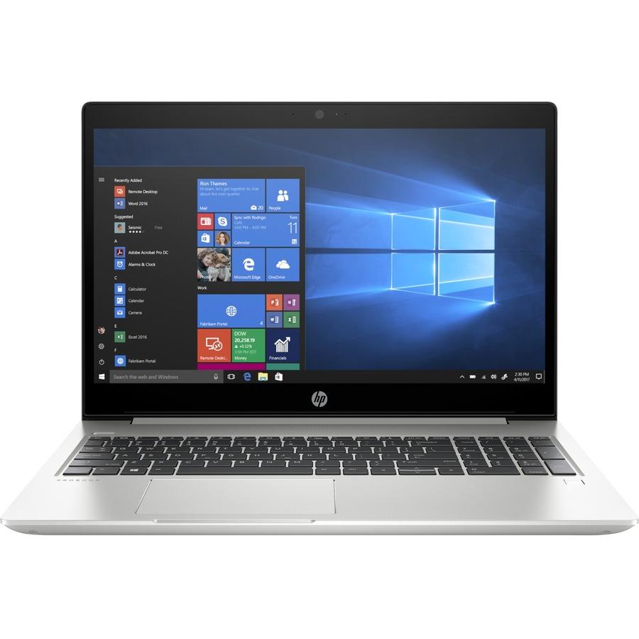 """HP ProBook 455R G6 15.6"""" Notebook - 1920 x 1080 - AMD Ryzen 5 3500U Quad-core (4 Core) 2.10 GHz - 8 GB RAM - 256 GB SSD - Pike Silver Aluminum"""
