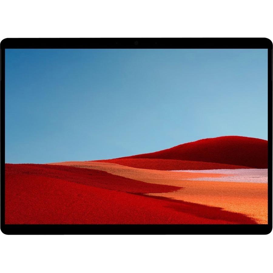 "Microsoft Surface Pro X Tablet - 13"" - 3 GHz - 8 GB RAM - 256 GB SSD - Windows 10 Pro - 4G - Matte Black"