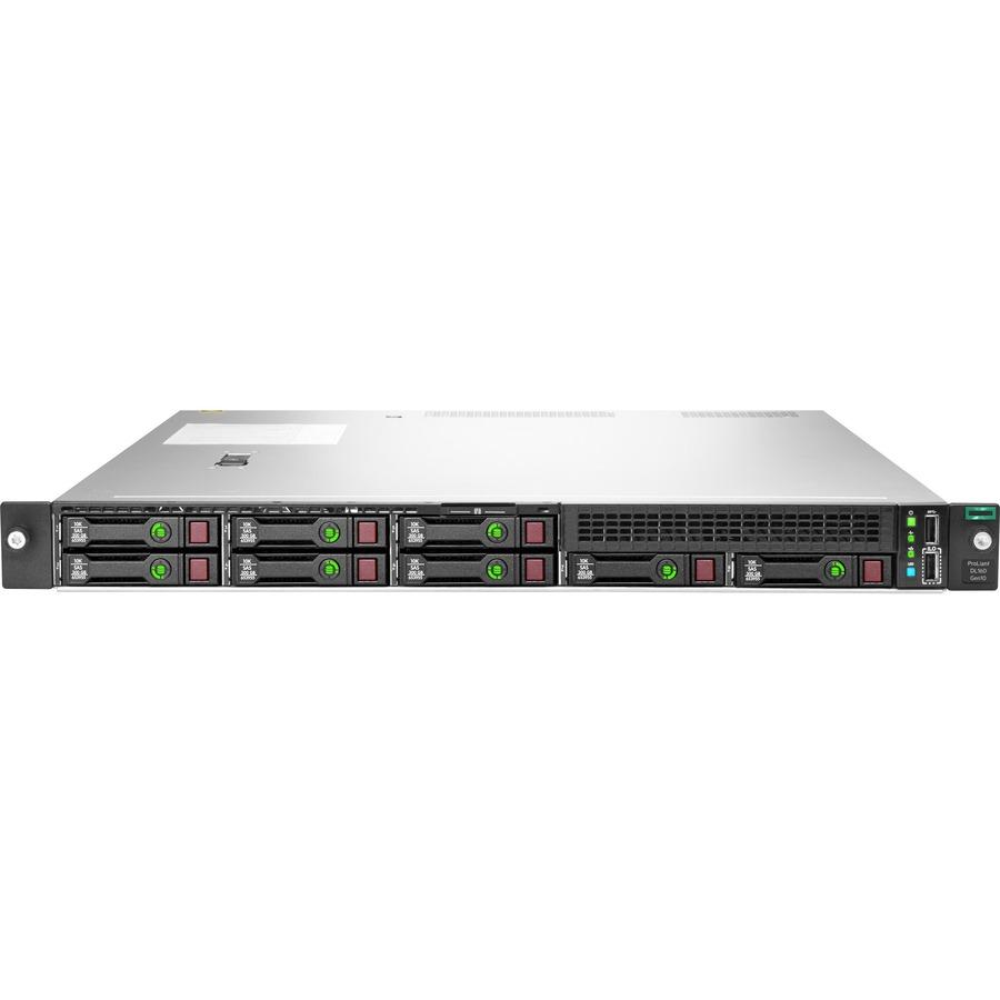 HPE ProLiant DL160 G10 1U Rack Server - Intel C622 SoC - 1 x Intel Xeon Silver 4210R 2.40 GHz - 16 GB RAM - Serial ATA/600 Controller