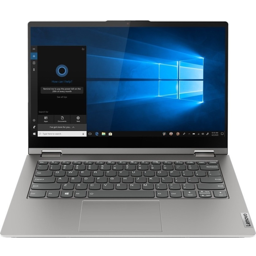"""Lenovo ThinkBook 14s Yoga ITL 20WE0018US 14"""" Touchscreen 2 in 1 Notebook - Full HD - 1920 x 1080 - Intel Core i7 i7-1165G7 Quad-core (4 Core) 2.80 GHz - 16 GB RAM - 512 GB SSD - Mineral Gray"""
