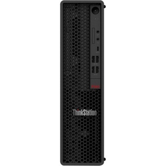 Lenovo ThinkStation P340 30DK003RCA Workstation - 1 x Intel Core i7 Octa-core (8 Core) i7-10700 10th Gen 2.90 GHz - 16 GB DDR4 SDRAM RAM - 512 GB SSD - Small Form Factor