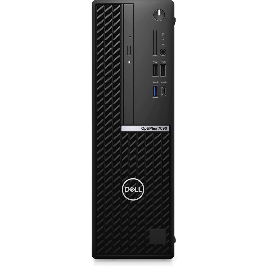 Dell OptiPlex 7000 7090 Desktop Computer - Intel Core i7 10th Gen i7-10700 Octa-core (8 Core) 2.90 GHz - 32 GB RAM DDR4 SDRAM - 512 GB M.2 PCI Express NVMe 3.0 x4 SSD - Small Form Factor - Black