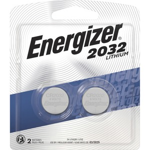 Energizer 2032 Lithium Coin Battery, 2 Pack