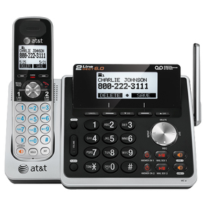 AT&T TL88102 DECT 6.0 1.90 GHz Cordless Phone