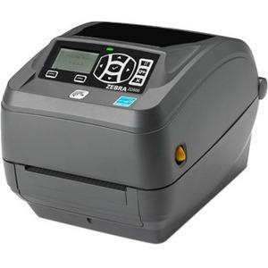 Zebra ZD500 Desktop Direct Thermal/Thermal Transfer Printer - Monochrome - Label Print - Ethernet - USB - Serial - Parallel - Bluetooth