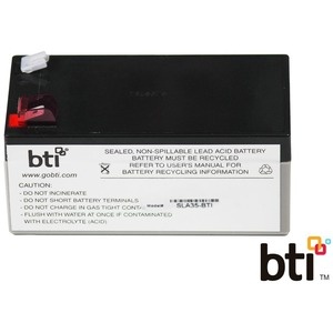 BTI Replacement Battery RBC35 for APC - UPS Battery - Lead Acid