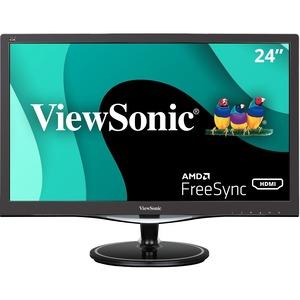"Viewsonic VX2457-mhd 24"" Full HD LED LCD Monitor - 16:9 - Black"