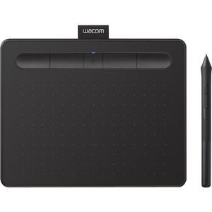 Wacom Intuos Wireless Graphics Drawing Tablet for Mac, PC, Chromebook & Android (small) with Software Included - Black
