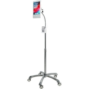 CTA Digital Heavy-Duty Security Floor Stand for iPad (Gen. 5-6), iPad Pro 9.7, and iPad Air