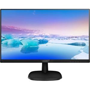 "Philips 273V7QJAB 27"" Full HD WLED LCD Monitor - 16:9 - Textured Black"