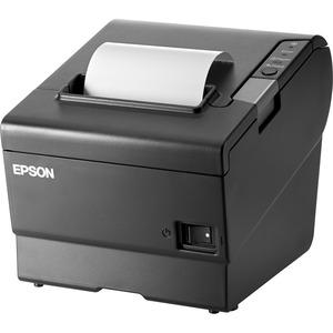 HP TM-T88VI Desktop Direct Thermal Printer - Monochrome - Receipt Print - Ethernet - USB - Near Field Communication (NFC) - TAA Compliant