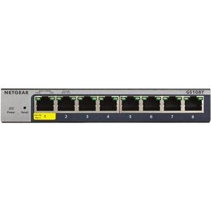 Netgear 8-Port Gigabit Ethernet Smart Managed Pro Switches with Cloud Management