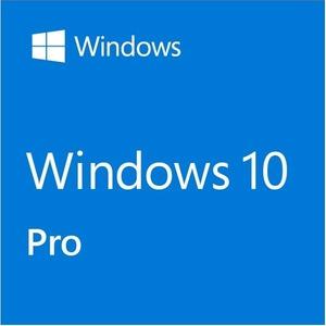 HP Microsoft Windows 10 Pro 32/64-bit - Media Only - 1 License - CTO