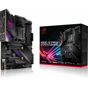 Asus ROG Strix X570-E Gaming Desktop Motherboard - AMD Chipset - Socket AM4 - ATX