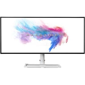 """MSI Prestige PS341WU 34"""" 5K UHD Curved Screen LED LCD Monitor - 21:9"""