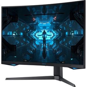 """Samsung Odyssey G7 C32G75TQSN 31.5"""" WQHD Curved Screen Quantum Dot LED Gaming LCD Monitor - 16:9 - Black"""