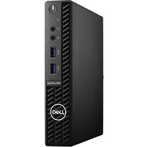 Dell OptiPlex 3000 3080 Desktop Computer - Intel Core i5 10th Gen i5-10500T Hexa-core (6 Core) 2.30 GHz - 8 GB RAM DDR4 SDRAM - 128 GB SSD - Micro PC