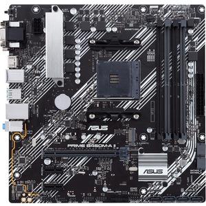Asus Prime B450M-A II Desktop Motherboard - AMD Chipset - Socket AM4 - Micro ATX