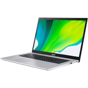 "Acer Aspire 3 A317-33 A317-33-P9JT 17.3"" Notebook - HD+ - 1600 x 900 - Intel Pentium Silver N6000 Quad-core (4 Core) 1.10 GHz - 8 GB RAM - 256 GB SSD - Pure Silver"