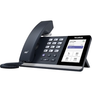 Yealink MP54 IP Phone - Corded - Corded - Desktop - Classic Gray