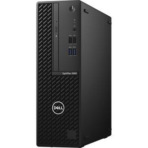 Dell OptiPlex 3000 3080 Desktop Computer - Intel Core i3 10th Gen i3-10105 Quad-core (4 Core) 3.70 GHz - 8 GB RAM DDR4 SDRAM - 500 GB HDD - Small Form Factor - Black