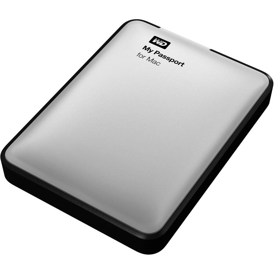 WD My Passport for Mac 2TB GB USB 3.0 External Portable Hard Drive Storage