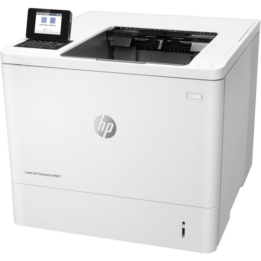 HP LaserJet M607 M607n Desktop Laser Printer - Monochrome
