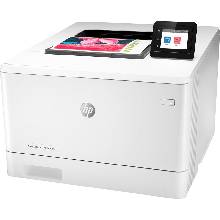 HP LaserJet Pro M454 M454dw Desktop Laser Printer - Color