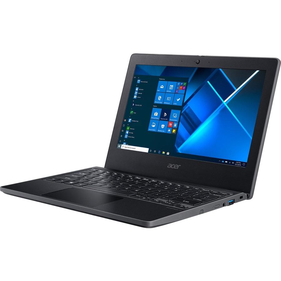 "Acer TravelMate B3 B311-31 TMB311-31-C7D6 11.6"" Notebook - HD - 1366 x 768 - Intel Celeron N4120 Quad-core (4 Core) 1.10 GHz - 8 GB RAM - 128 GB Flash Memory - Shale Black"