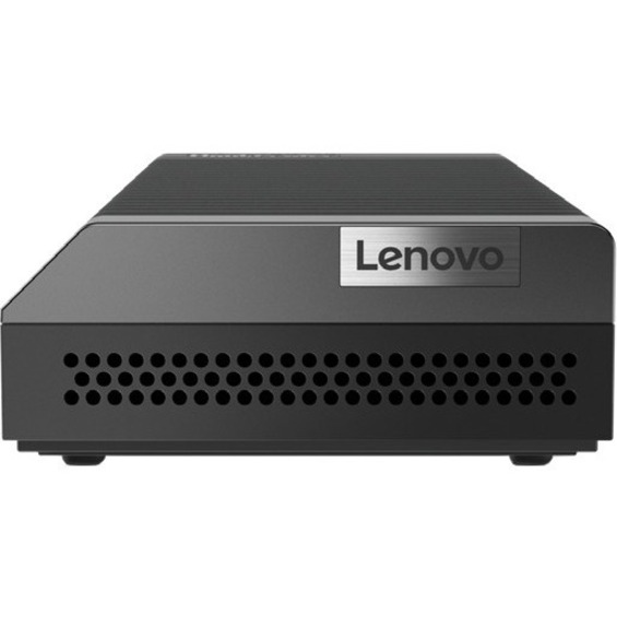 Lenovo ThinkCentre M75n 11BW0002US Desktop Computer - AMD 3050e Dual-core (2 Core) 1.40 GHz - 4 GB RAM DDR4 SDRAM - 128 GB SSD - Nano - Black