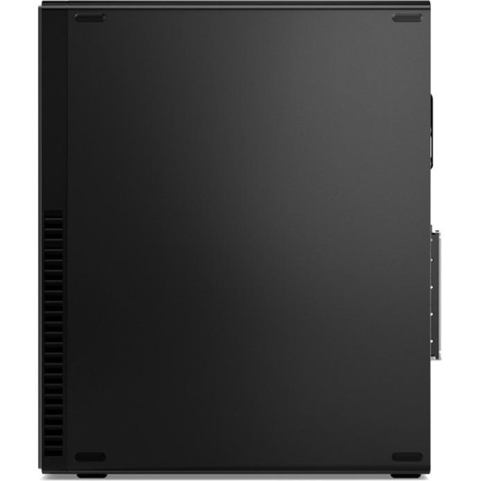 Lenovo ThinkCentre M720e 11DC0036CA Desktop Computer - Intel Core i5 10th Gen i5-10400 Hexa-core (6 Core) 2.90 GHz - 16 GB RAM DDR4 SDRAM - 256 GB SSD - Small Form Factor - Black