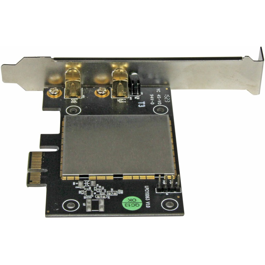 StarTech.com AC600 Wireless-AC Network Adapter - 802.11ac, PCI Express - Dual Band 2.4GHz and 5GHz Wireless Network Card