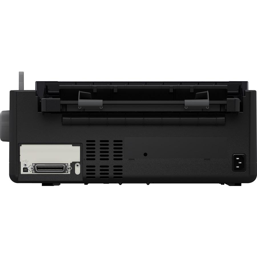 Epson FX-890II 9-pin Dot Matrix Printer - Monochrome - Energy Star
