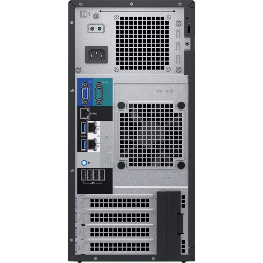 Dell EMC PowerEdge T140 Tower Server - 1 x Intel Xeon E-2224 3.40 GHz - 8 GB RAM - 1 TB HDD - (1 x 1TB) HDD Configuration - Serial ATA Controller - 3 Year ProSupport