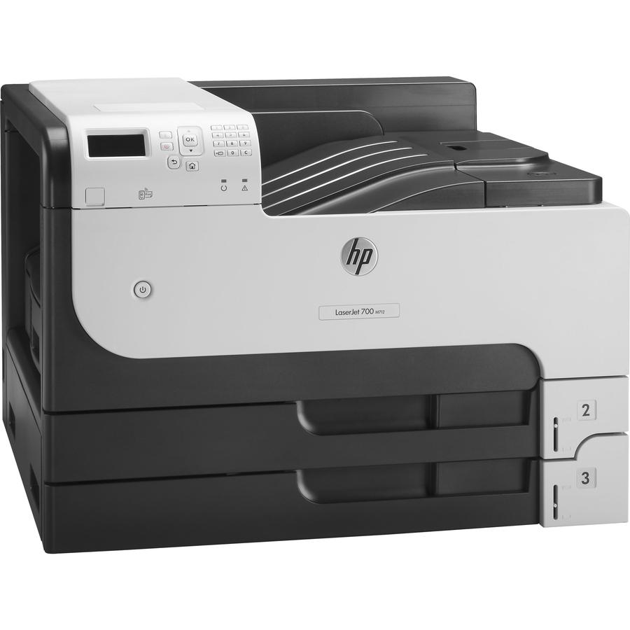 HP LaserJet 700 M712DN Desktop Laser Printer - Monochrome