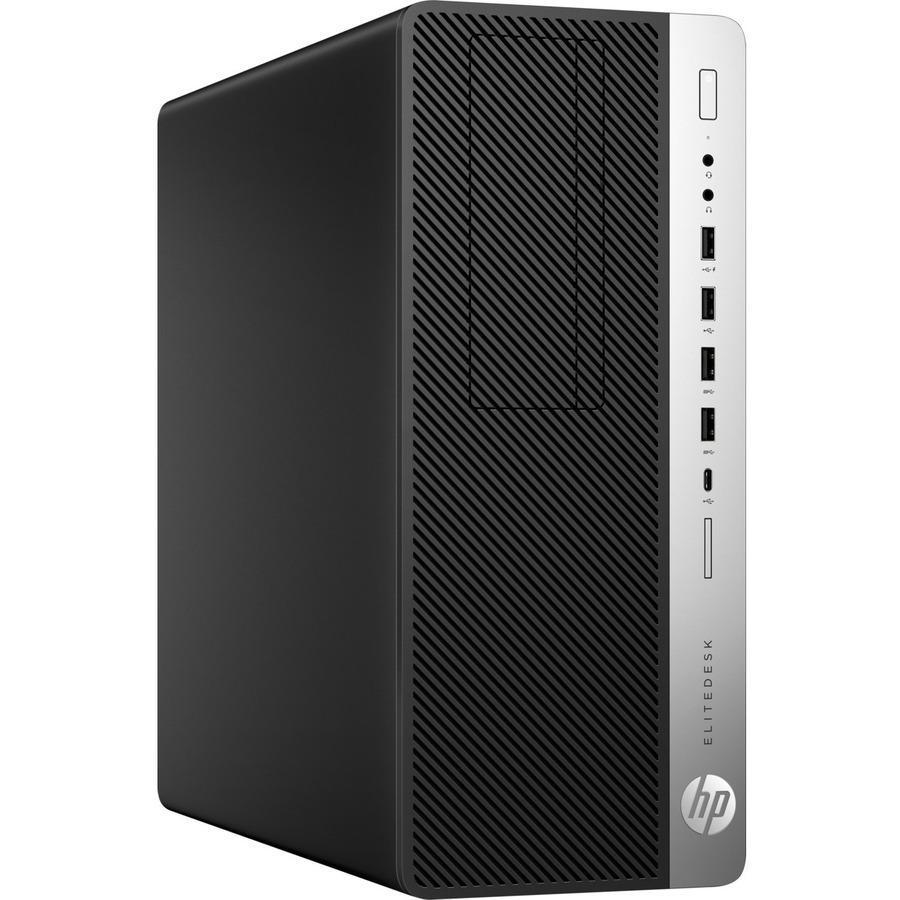 HP EliteDesk 800 G4 Desktop Computer - Intel Core i7 8th Gen i7-8700 3.20 GHz - 16 GB RAM DDR4 SDRAM - 512 GB SSD - Tower