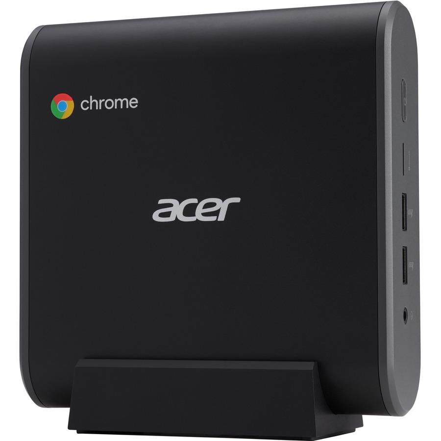 Acer CXI3 Chromebox - Intel Celeron 3867U Dual-core (2 Core) 1.80 GHz - 4 GB RAM DDR4 SDRAM - 32 GB Serial ATA/600 SSD