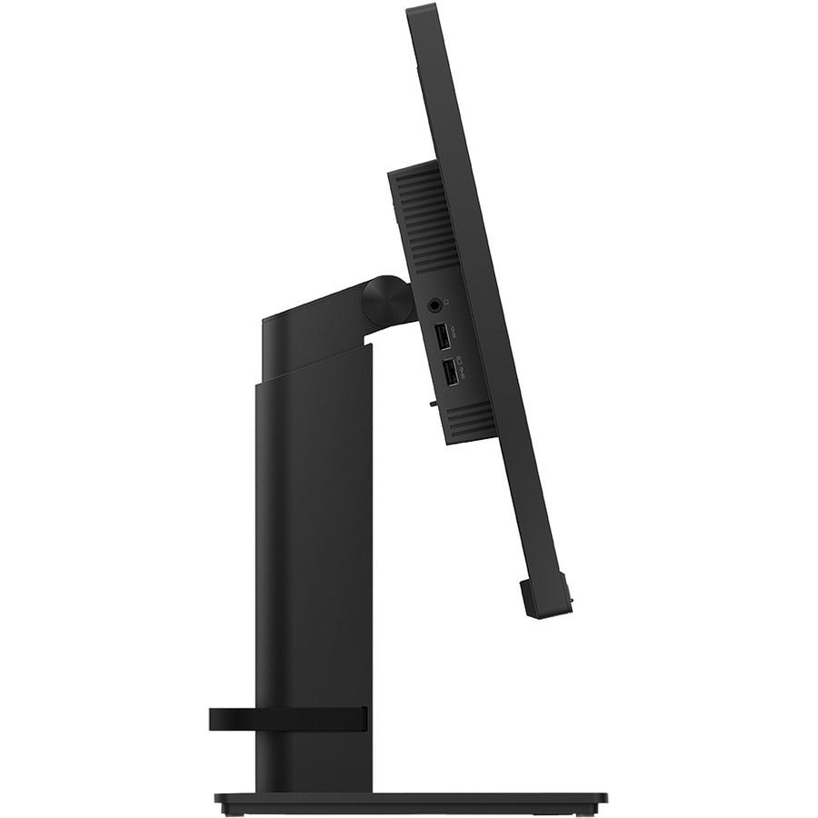 "Lenovo ThinkVision T23i-20 23"" Full HD WLED LCD Monitor - 16:9 - Raven Black"