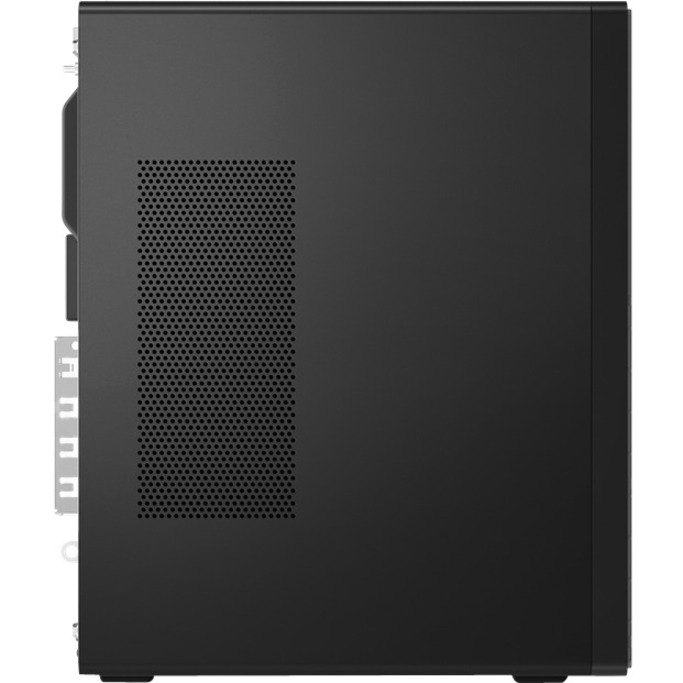 Lenovo ThinkCentre M80t 11CS000GUS Desktop Computer - Intel Core i5 10th Gen i5-10500 Hexa-core (6 Core) 3.10 GHz - 8 GB RAM DDR4 SDRAM - 256 GB SSD - Tower - Raven Black