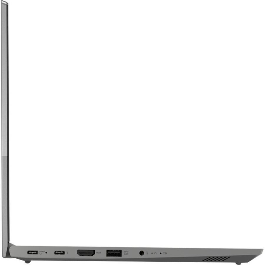 "Lenovo ThinkBook 14 G2 ITL 20VD0033US 14"" Notebook - Full HD - 1920 x 1080 - Intel Core i5 i5-1135G7 Quad-core (4 Core) 2.40 GHz - 8 GB RAM - 256 GB SSD - Mineral Gray"
