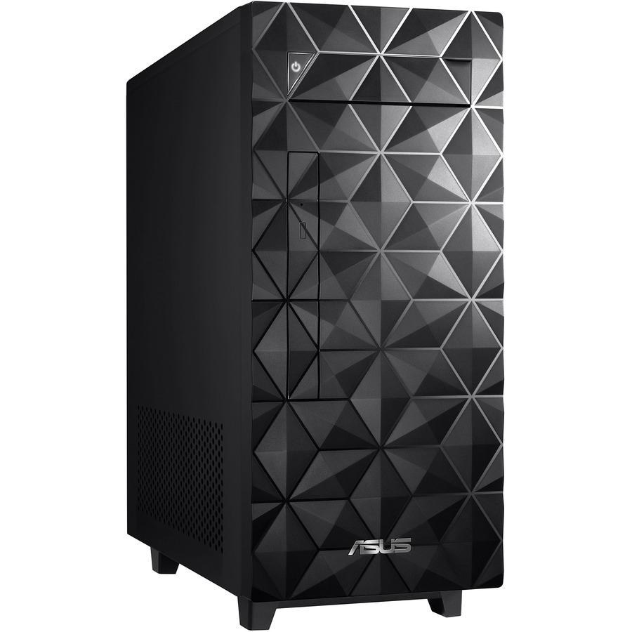 Asus S300MA-D510 Desktop Computer - Intel Core i5 10th Gen i5-10400 Hexa-core (6 Core) 2.90 GHz - 8 GB RAM DDR4 SDRAM - 512 GB M.2 PCI Express NVMe 3.0 SSD - Mini-tower - Black