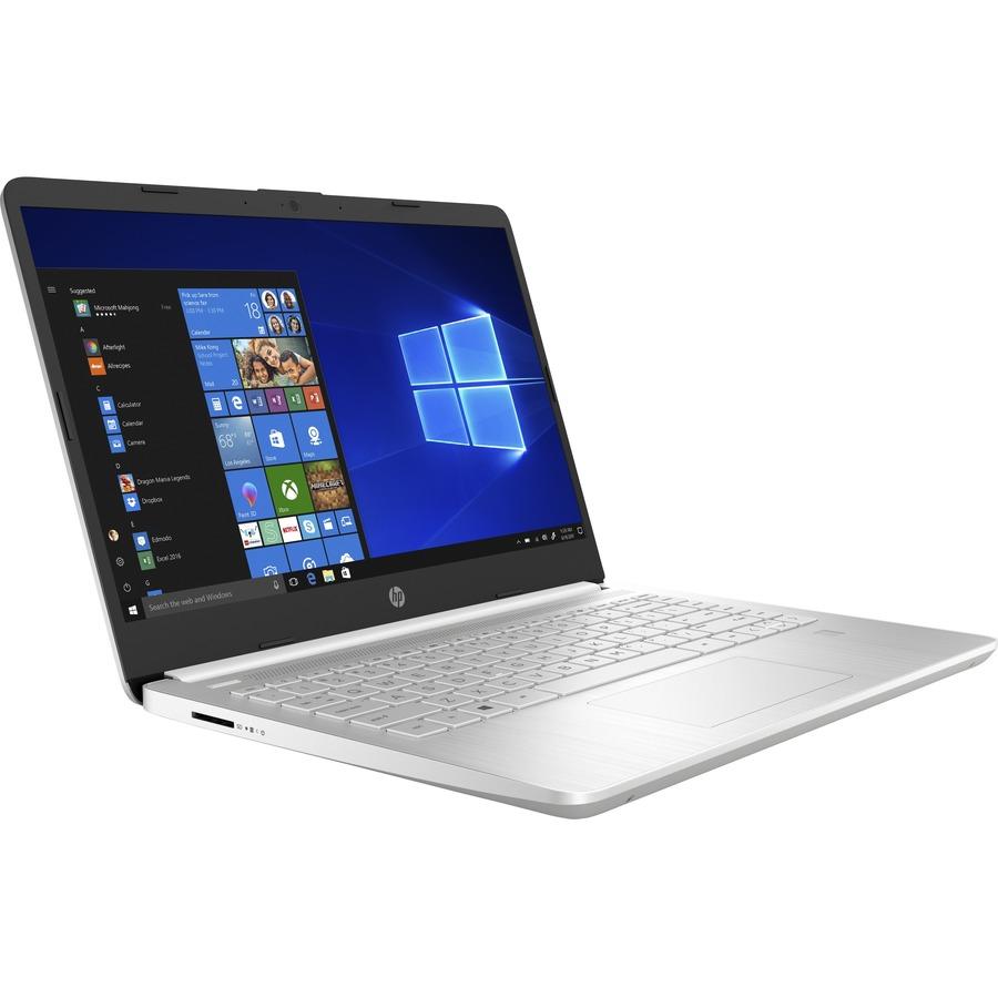 "HP 14-dq2020ca 14"" Notebook - Full HD - 1920 x 1080 - Intel Core i3 11th Gen i3-1125G4 Quad-core (4 Core) - 4 GB RAM - 128 GB SSD - Natural Silver"