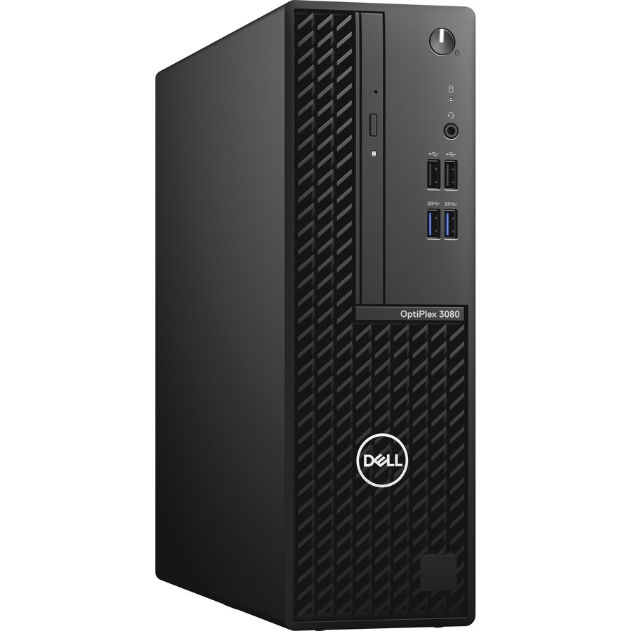 Dell OptiPlex 3000 3080 Desktop Computer - Intel Core i5 10th Gen i5-10505 Hexa-core (6 Core) 3.20 GHz - 8 GB RAM DDR4 SDRAM - 1 TB HDD - Small Form Factor - Black