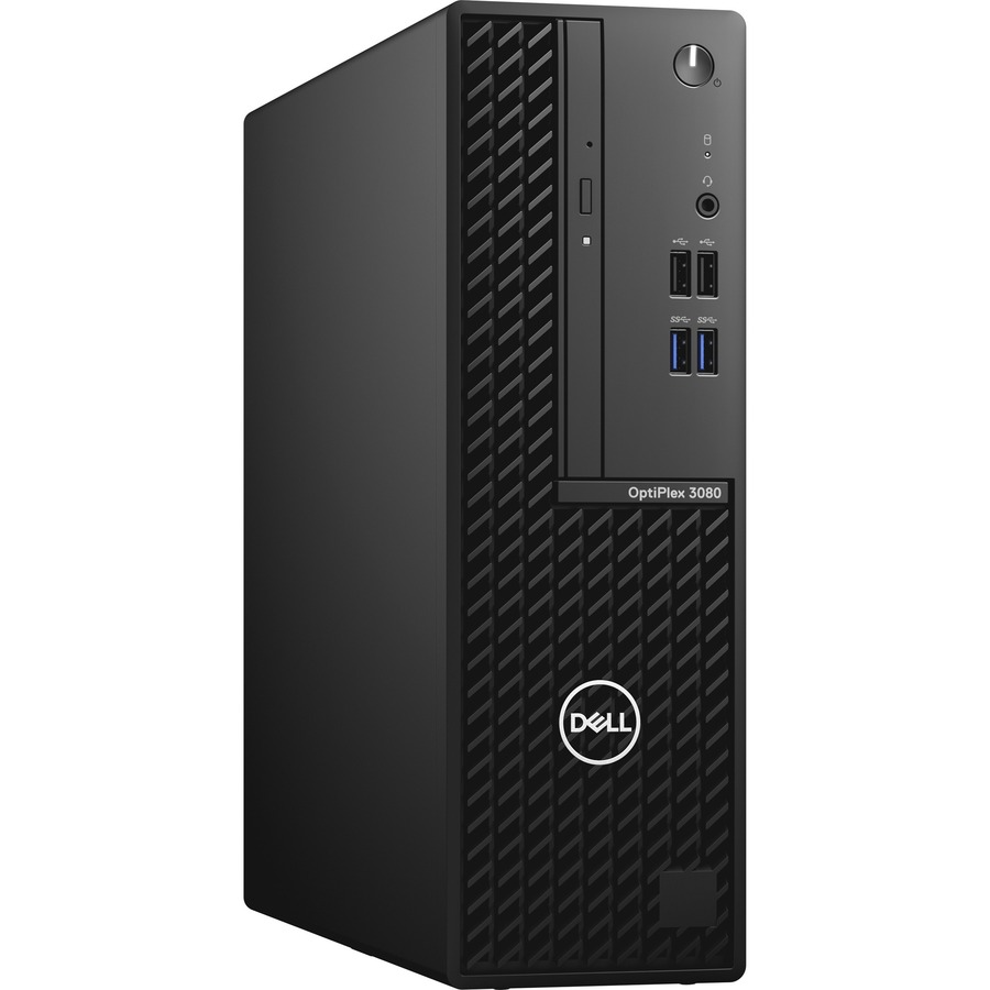 Dell OptiPlex 3000 3080 Desktop Computer - Intel Core i5 10th Gen i5-10505 Hexa-core (6 Core) 3.20 GHz - 16 GB RAM DDR4 SDRAM - 256 GB NVMe M.2 PCI Express M.2 SSD - Small Form Factor - Black