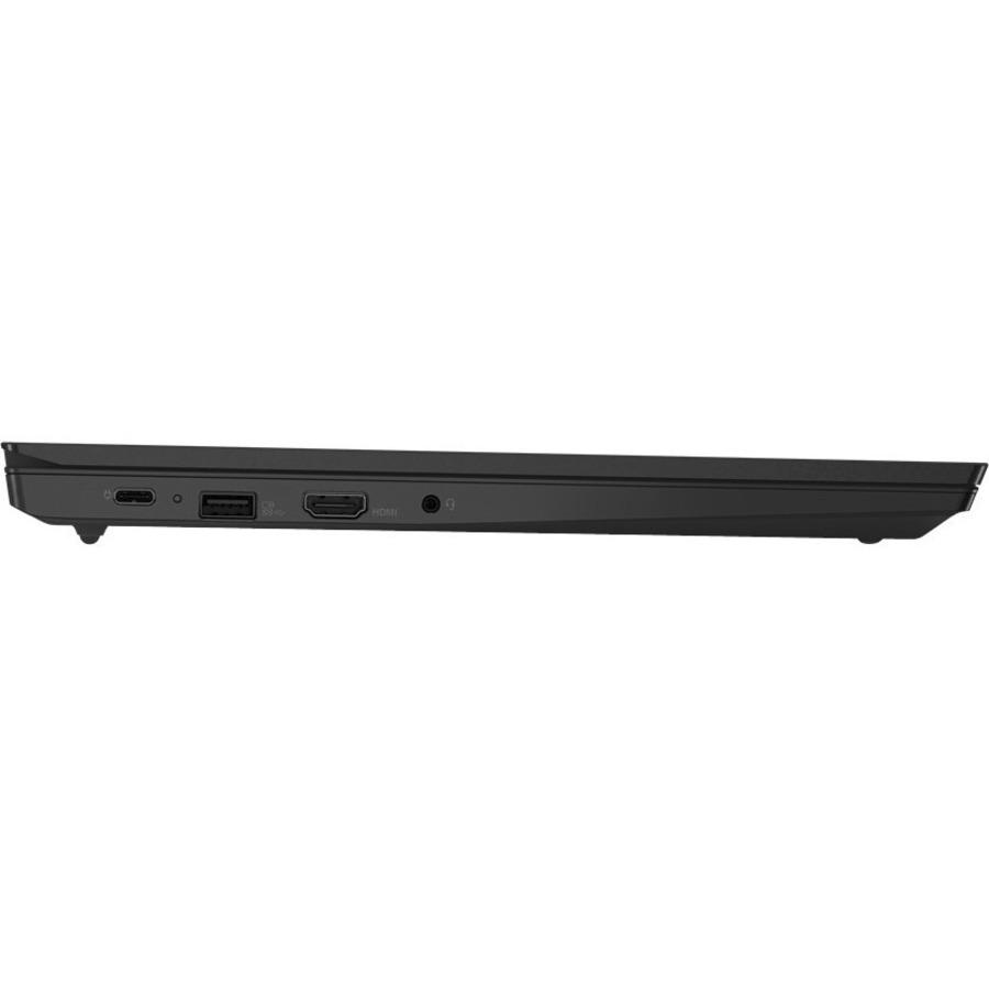 """Lenovo ThinkPad E15 G3 20YGS02R00 15.6"""" Rugged Notebook - Full HD - 1920 x 1080 - AMD Ryzen 7 5700U Octa-core (8 Core) 1.80 GHz - 8 GB RAM - 256 GB SSD - Black"""
