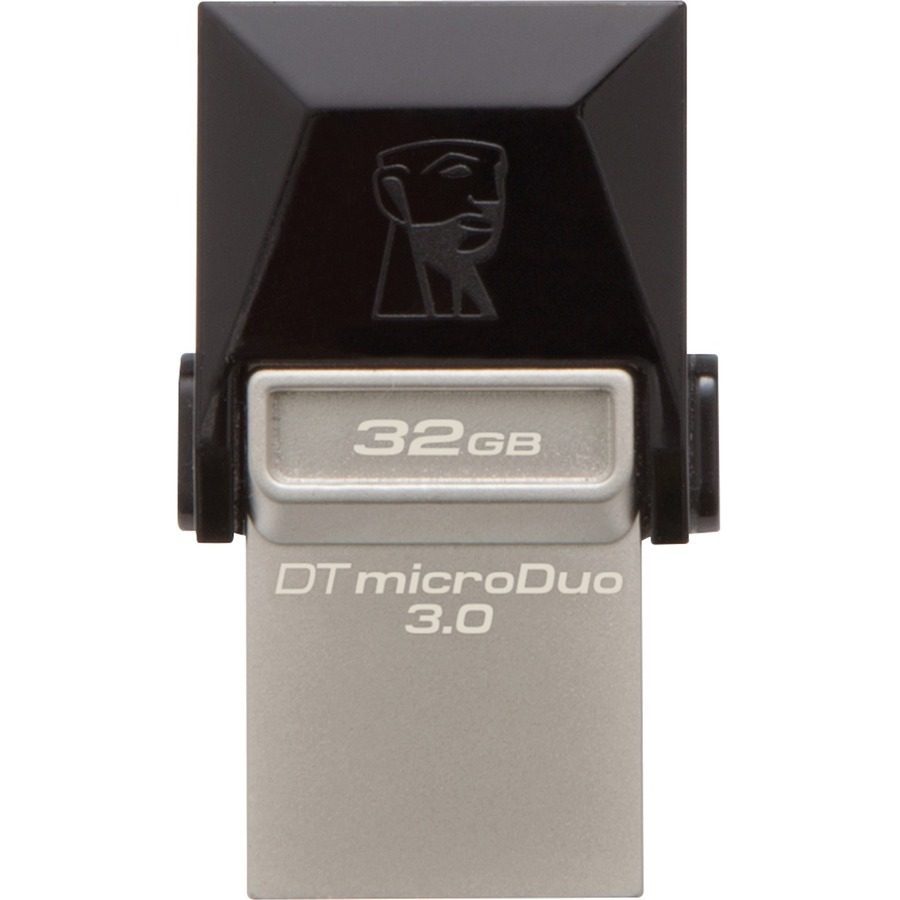 Kingston 32GB DataTraveler microDuo USB 3.0 On-The-Go Flash Drive