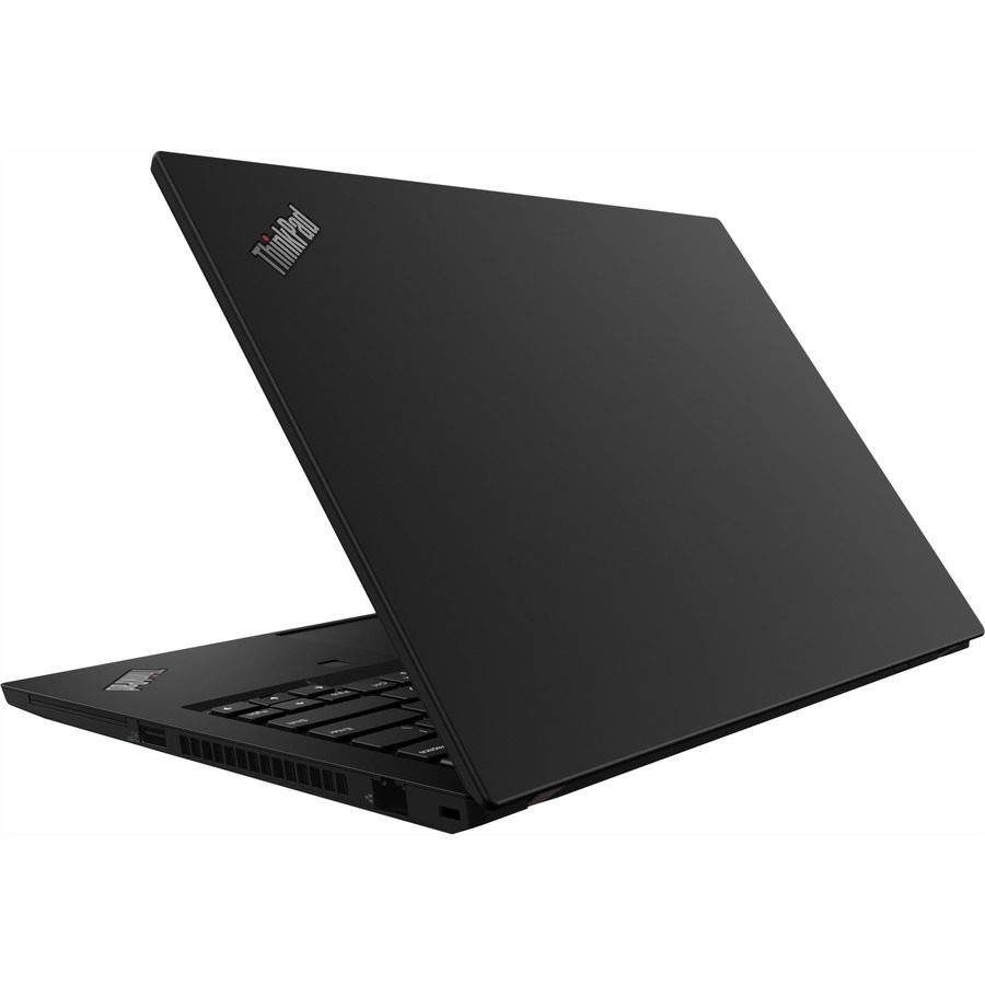 "Lenovo ThinkPad T490 20RY0001US 14"" Notebook - 1920 x 1080 - Intel Core i5 (10th Gen) i5-10210U Quad-core (4 Core) 1.60 GHz - 8 GB RAM - 256 GB SSD - Glossy Black"